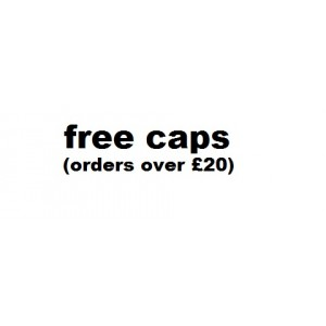 Free Caps (orders over £20)