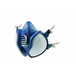 3M 4000 series maintenance free half-mask respirator