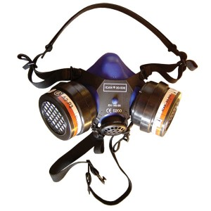 ICAN 30-500 two filter half-mask respirator (including filters)