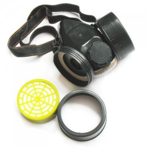 POISON two filter half-mask respirator (including filters)