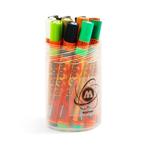 Molotow ONE4ALL 227HS Main-Kit II 12pcs. Box