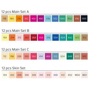 Stylefile Marker set of 12 brush markers