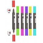 Poison Graphic Marker set of 6 - tryout set