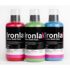 Ironlak Paint solvent based refill 250ml