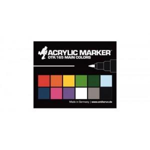 On The Run OTR.165 acrylic paint marker set of 12